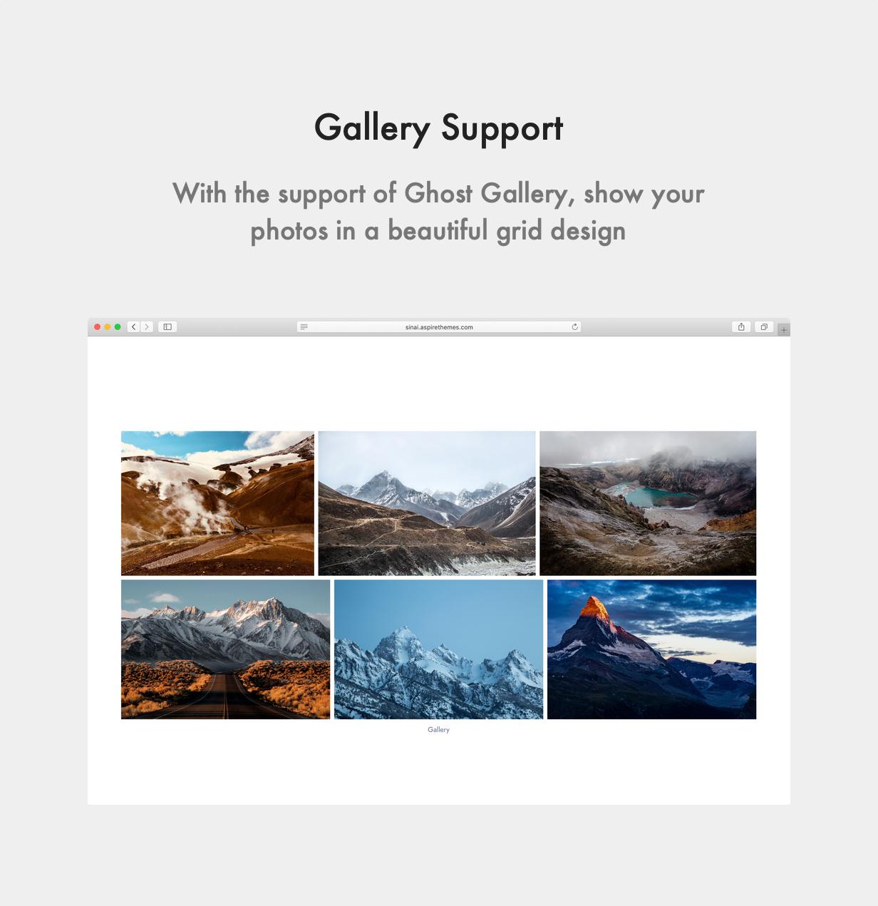 Sinai Ghost Theme Gallery