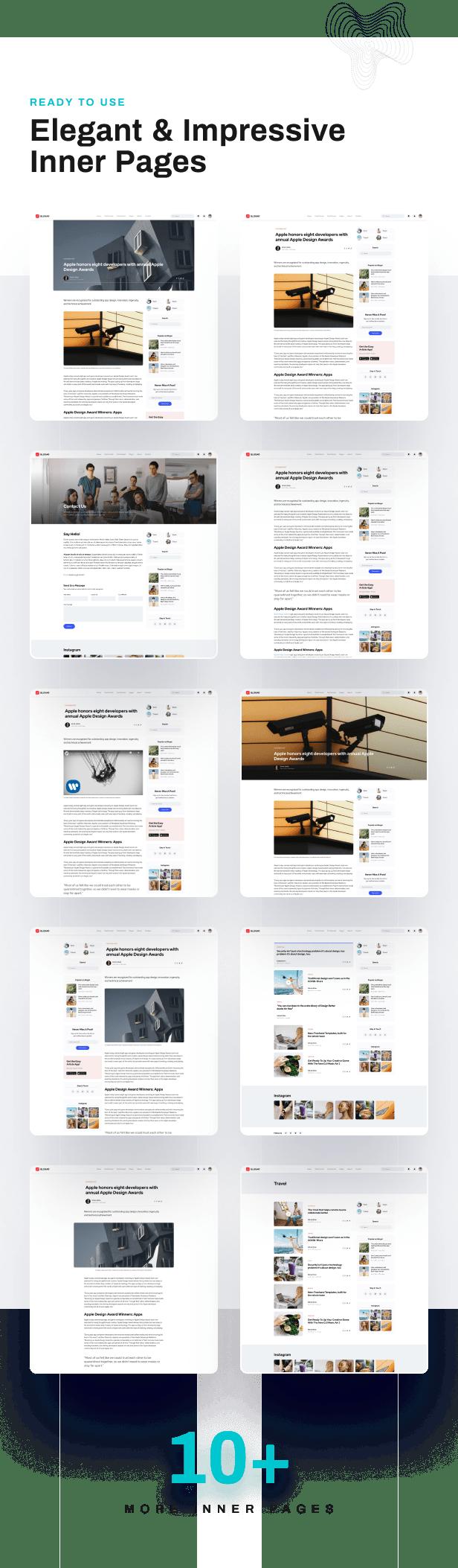 Blogar - Blog Magazine WordPress Theme - 5