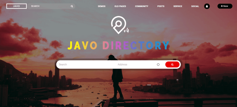 Javo Elementor friendly WordPress Theme
