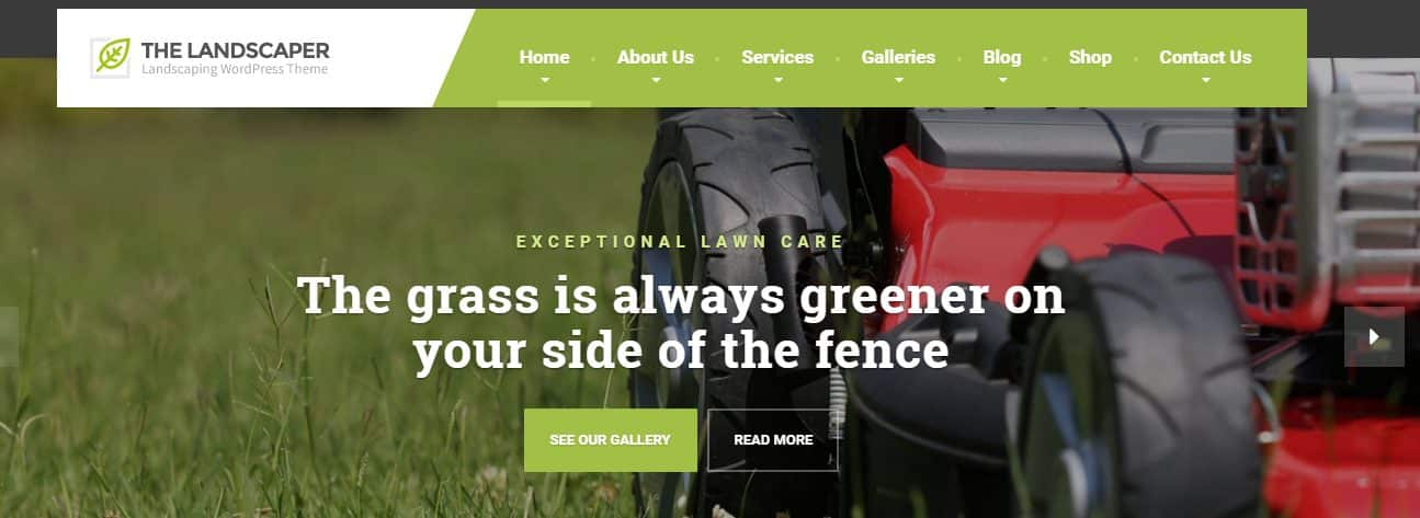 Landscaper WordPress Theme: Walking the Grounds with QreativeThemes