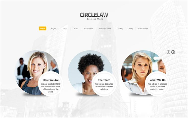 CircleLaw WordPress Law Theme Development & Support
