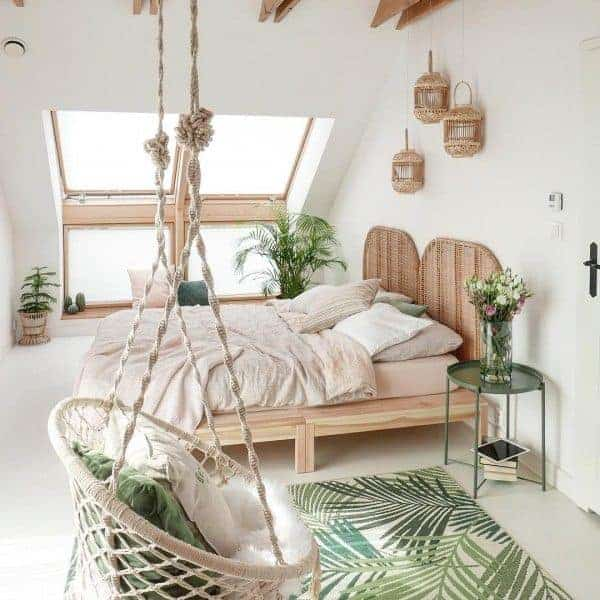 25 Cozy Bohemian Bedroom Ideas for Your First Apartment ... on Boho Bedroom  id=82626