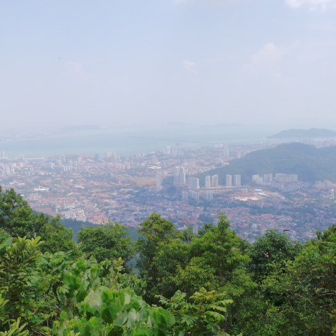 View over Penang from Penang Hill, Malaysia