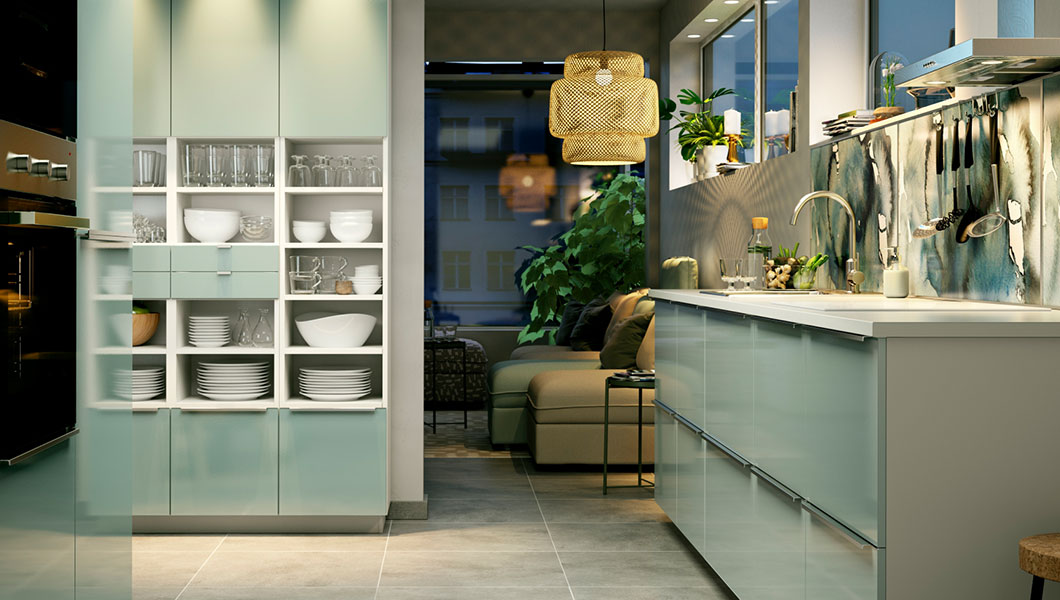 GREEN KITCHEN INSPIRATION Amp IDEAS