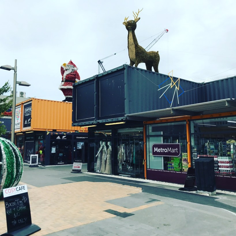 Christchurch Container Mall Re:Start