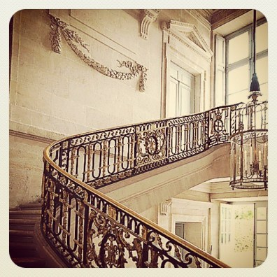 9 The Grand Staircase, Marie Antoinette Petit Trianon, Versailles