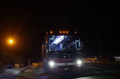Joe Biden campaign Bus