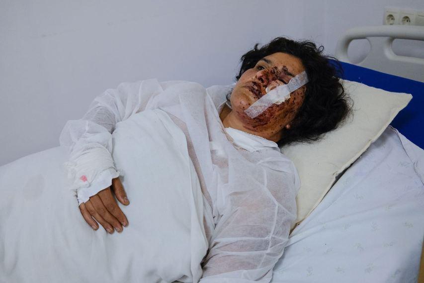 Hospitalized Armenian citizens