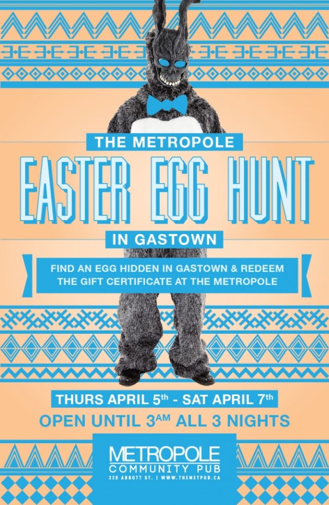 Easter Egg Hunt at The Met - April 5th - 7th