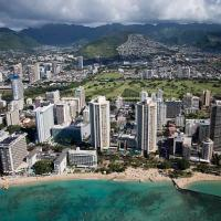 A Tour of Honolulu From A Top a Tiny Skateboard