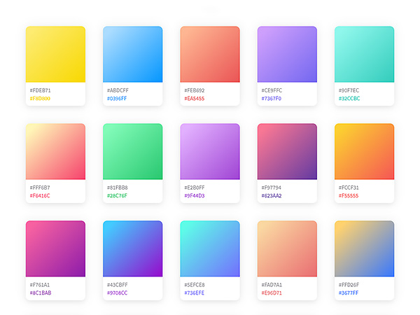 coolHue: A Collection of Ready to be Used CSS Color Gradients