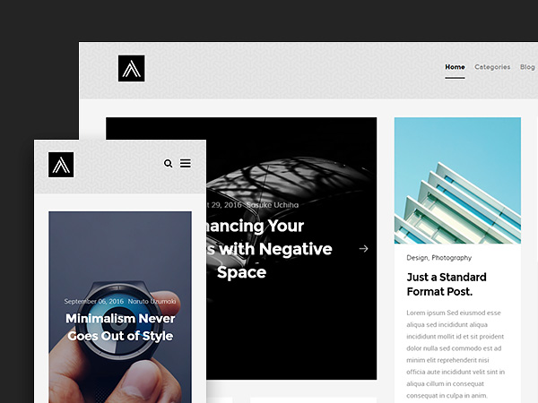 Abstract: Free Masonry Blog Website Template