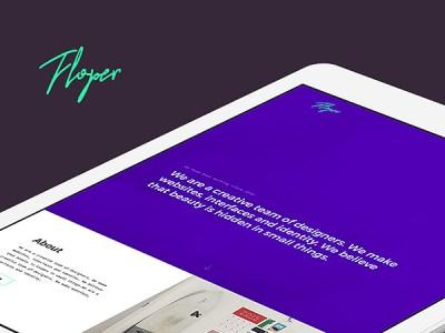 Floper Free HTML Website Template