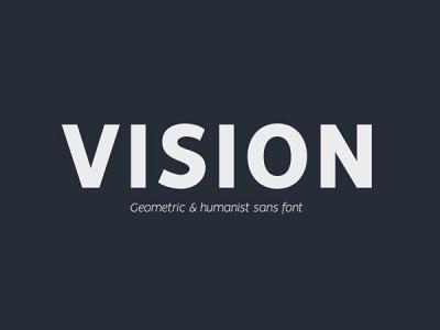 Vision - Free Sans Font Family