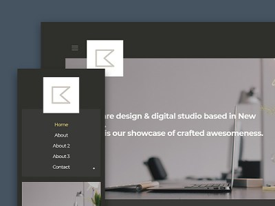 Katt - Free Creative Blog Website Template
