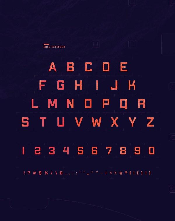 Apex MK2 - Free Geometric Sans-serif Display Font - 04