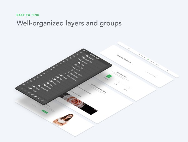 Creation Web UI Kit Free Sample - 4