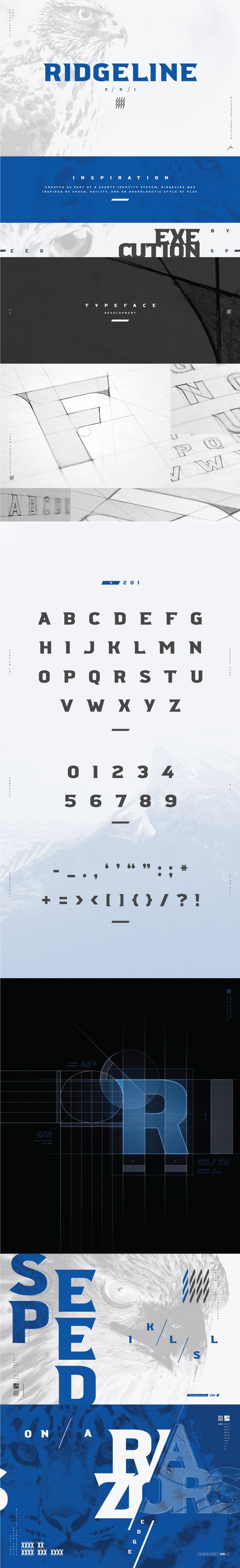 Ridgeline - Free Display Font