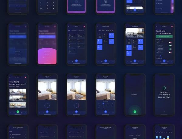 HIVO Smart Home Free UI Kit 04