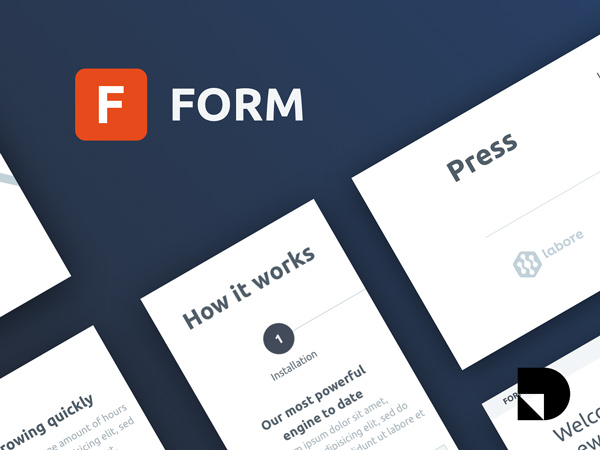 Form - Free Wireframe Kit