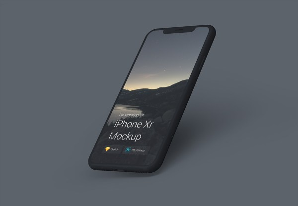 Free iPhone Xr Mockups 03
