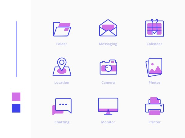 Freebies Office Icons Pack 03