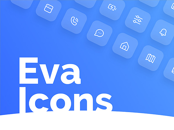 Eva Icons - 480 Outline & Fill Free Icons Pack