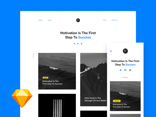 Portfolio - Free Landing Page