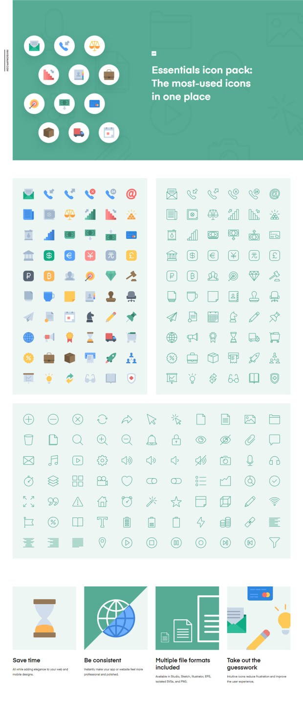 Download Essentials Free Icon Pack | Theme-UI