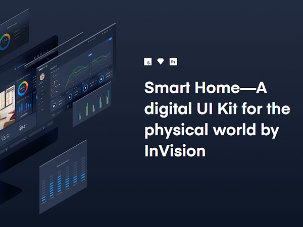 Smart Home - a Digital UI Kit for The Physical World