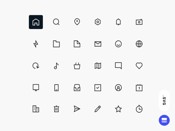 Workfy Icons Set
