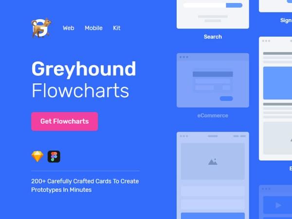 Greyhound Free Flowcharts