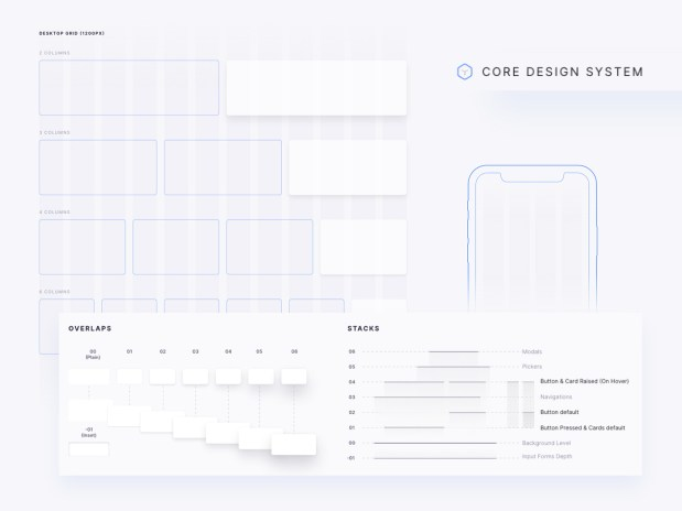 Core Design System - Free Sketch File 03