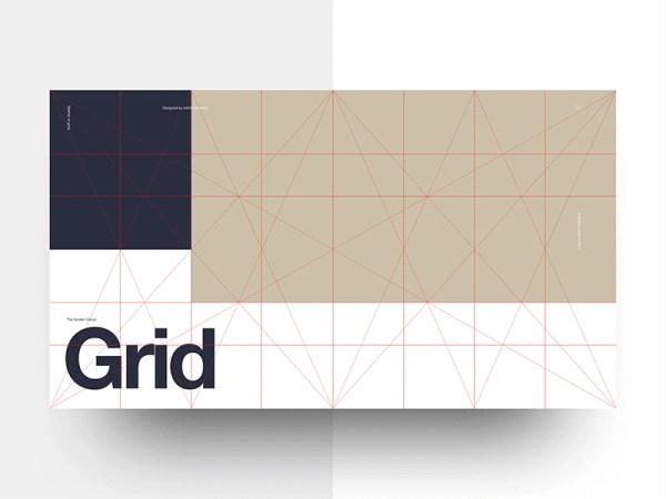 Golden Canon Grid Freebie