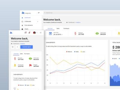 Majestic - Free Bootstrap Admin Template
