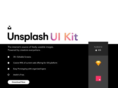 Unsplash UI Kit