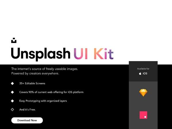 Unsplash UI Kit
