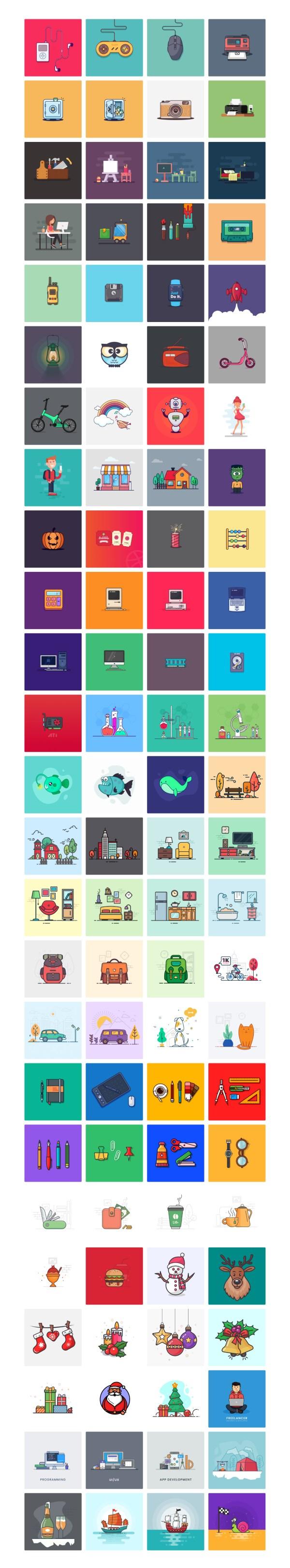 Illlustrations - Open Source Illustrations Kit