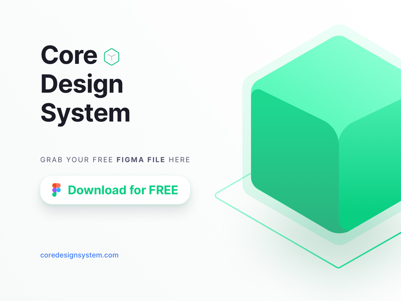Core Design System for Figma