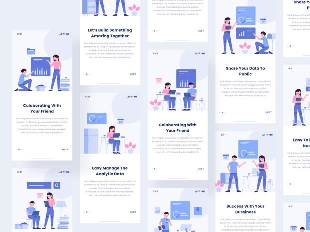 Bush Modular Free Illustration Kit