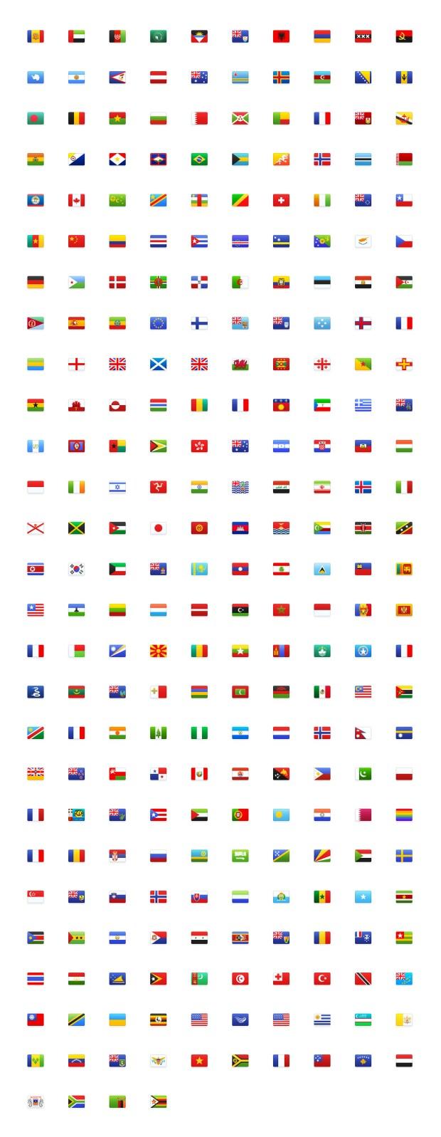 Flagpack — Free Flag Icons Pack