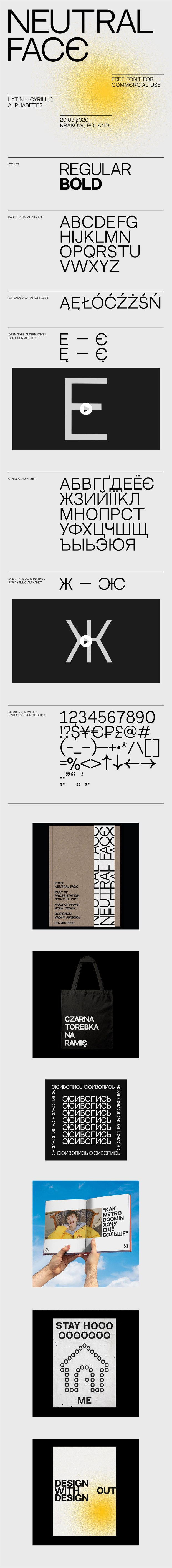 Neutral Face Free Font