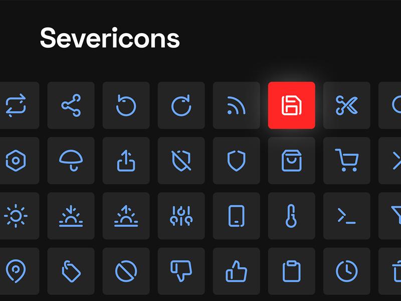 Severicons - Essential Free Icon Set