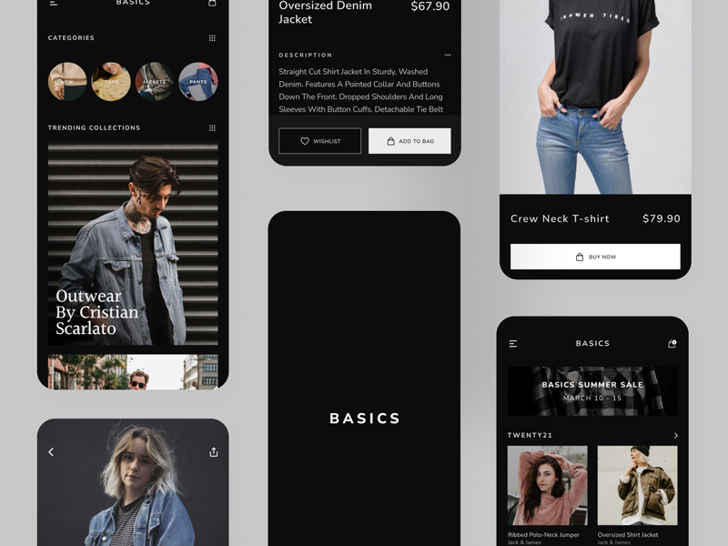 Basics — Ecommerce Free UI Kit