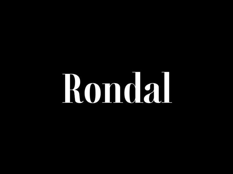 Rondal Free Serif Typeface