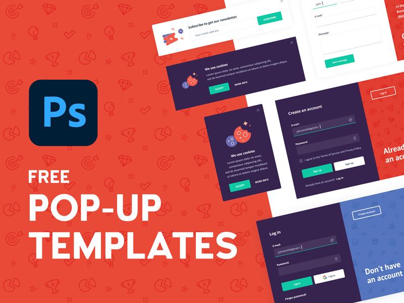 Free Pop-ups Templates