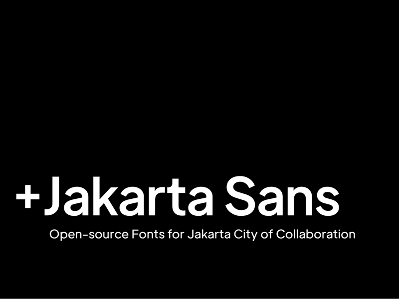+Jakarta Sans Free Typeface