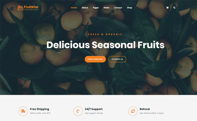 With a print resolution of 300 dpi and in cmyk color mode, apparel ecommerce bootstrap template is specially designed for the ecommerce website. Frutika Free Html5 Bootstrap 4 Ecommerce Website Template