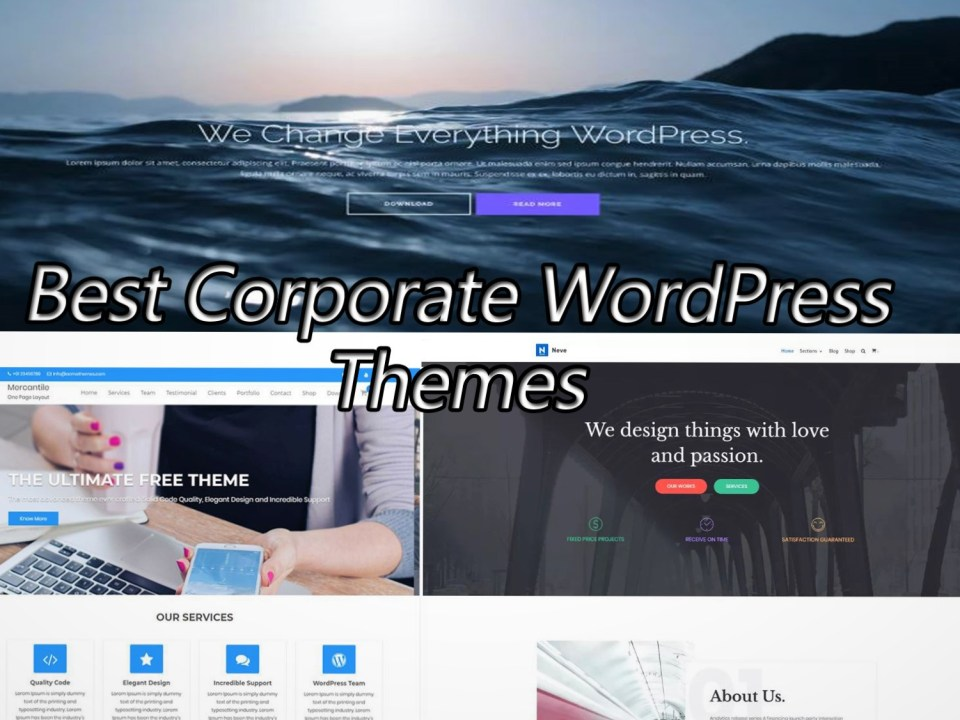 10 Best Corporate WordPress Themes