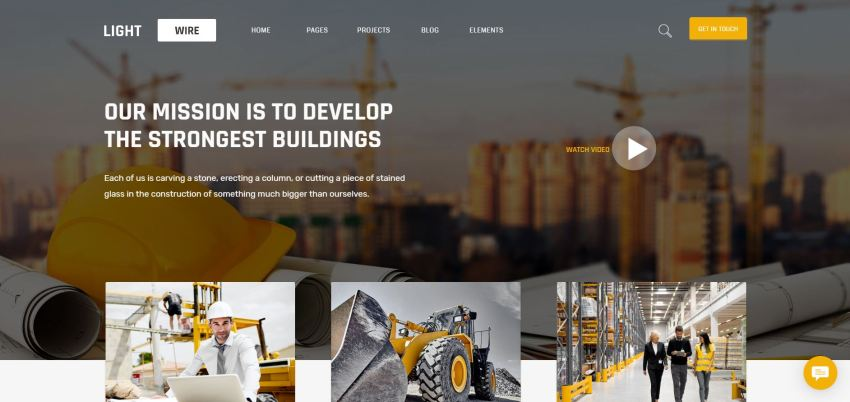 10+ Best Construction WordPress Themes
